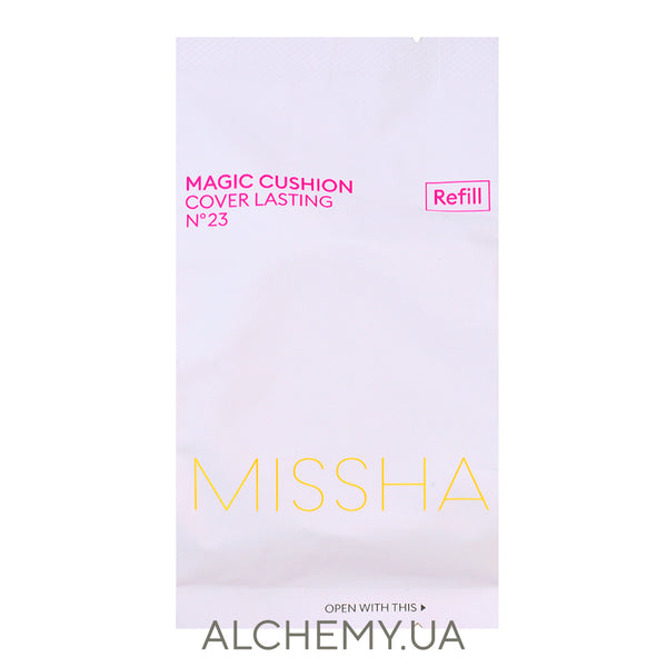 Сменный блок MISSHA Magic M Cushion Cover Lasting 15g (SPF50+ PA+++) 23 (REFILL)