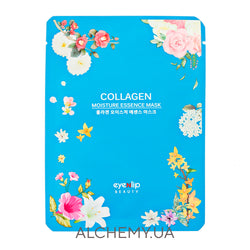 Тканевая маска с коллагеном eyeNlip Collagen Moisture Essence Mask Alchemy.com.ua