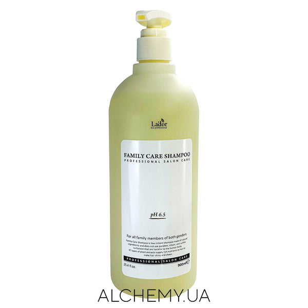 Шампунь для всей семьи La'dor Family Care Shampoo 900 ml Alchemy.com.ua