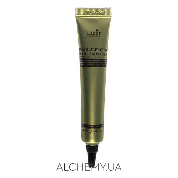 Интенсивно-восстанавливающая маска для волос La'dor Snail Sleeping Hair Ampoule 20ml Alchemy.com.ua