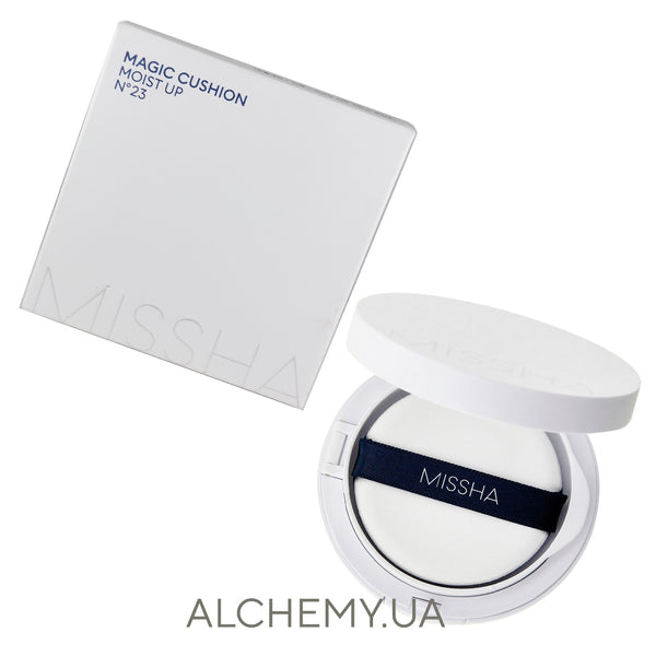 Увлажняющий тональный кушон Missha M Magic Cushion Moist Up SPF50+/PA+++ №23 Alchemy.com.ua