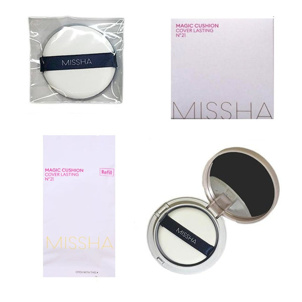 Набор КУШОН MISSHA MAGIC CUSHION COVER LASTING SET SPF50+ PA+++ NO.21