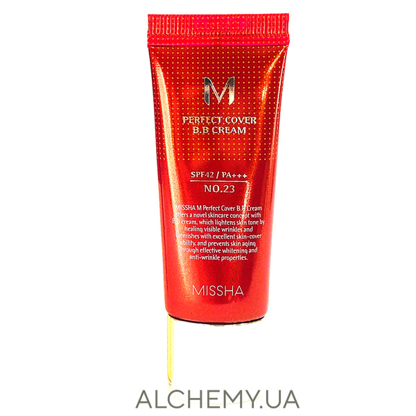 Тональный ВВ крем для лица Missha M Perfect Cover BB Cream SPF42/PA+++ Alchemy.com.ua