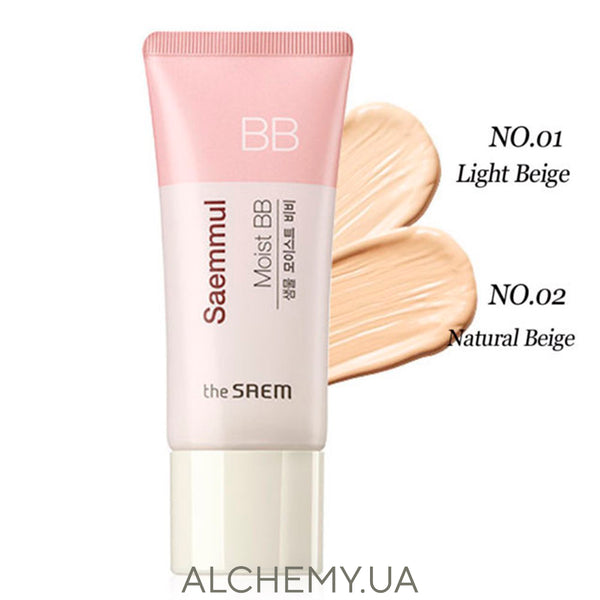 ББ-крем увлажняющий The Saem Saemmul Moist BB SPF37 PA++ 02  Natural Beige 150 ml Alchemy.com.ua