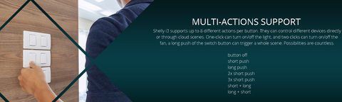 Shelly i3 Multi-Actions