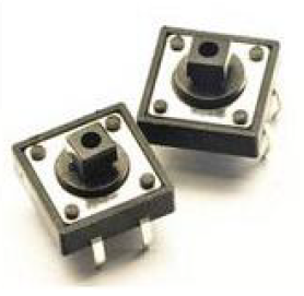 12x12x7.3mm Tactile Push Button Switch Square