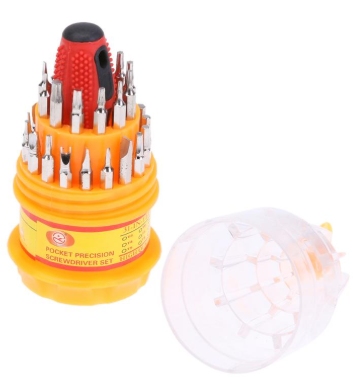 31 in 1 screwdriver Set