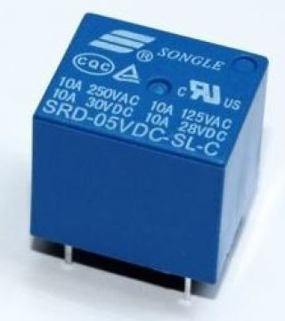 SRD-5VDC-SL-SC General Purpose Non Latching 5VDC SPDT 10A Through Hole Relays