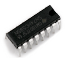 74HC595N 8-Bit Shift Register DIP-16