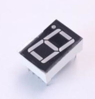 0.56 inch Red 1 Digit 7 Segment LED Display Common Cathode