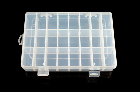 Adjustable Compartment Parts Box