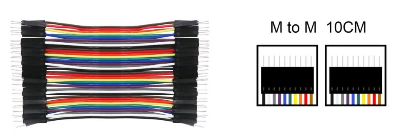 Dupont Male to Male 10 cm 40pcs Jumper Cable