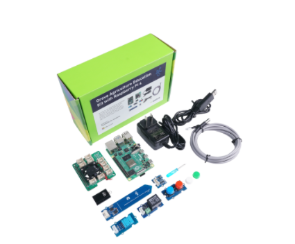 Grove Smart Agriculture Kit with Raspberry Pi 4 - designed for Microsoft FarmBeats for Students