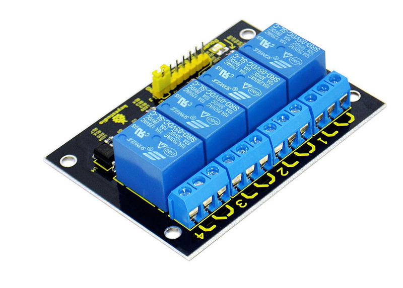 4-channel 5V Relay Module for Arduino