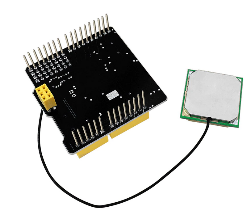 GPS shield with SD slot +Antenna for Arduino UNO R3