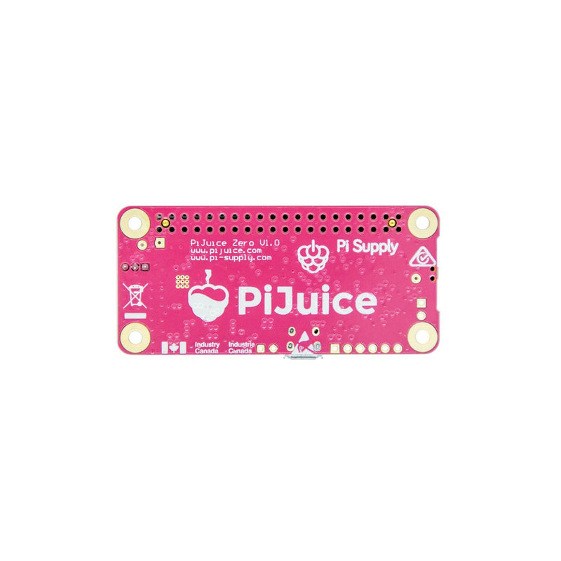 PiJuice Zero - A Portable Power Platform for Raspberry Pi Zero