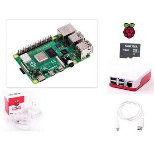Raspberry Pi 4 Model B 4GB Kit