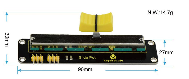Slide Potentiometer for Arduino