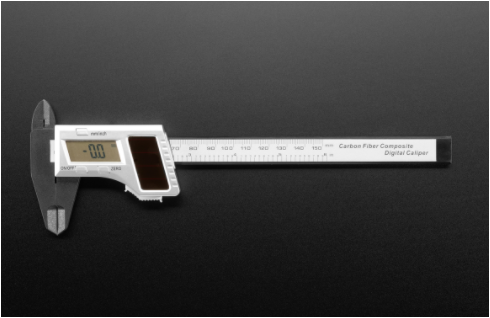 Solar Digital Calipers