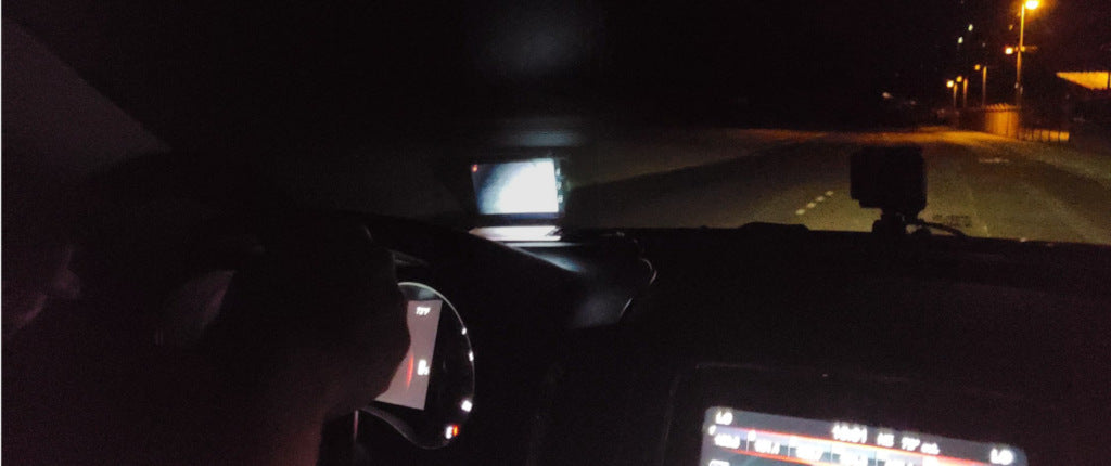 NightRide installed with HUD