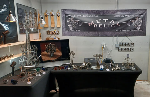 Metal Relic's Booth at 2021 Harford Fair