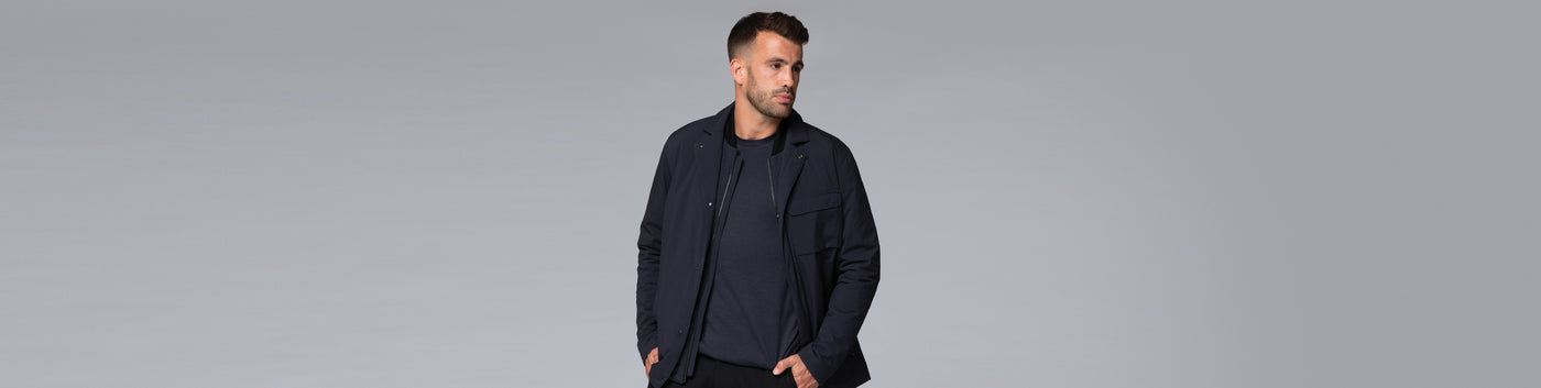 Men's Coats + Jackets