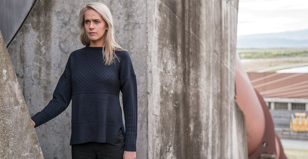 7 GAUGE MERINO JUMPER