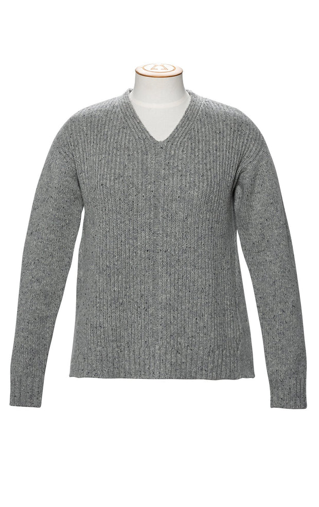 3GG LAMBSWOOL TWEED RELAXED V