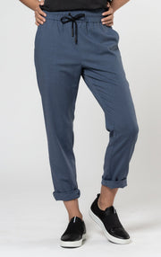 SUMMER WOOL DRAWSTRING PANTS