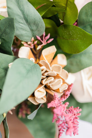 Image of Dusty Rose-mance - Sola Wood Flower Arrangement - Wood Flowers Co.