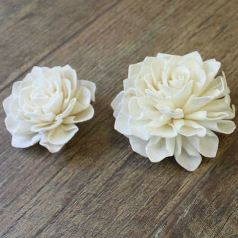 "Dahlia - 2.5"" - Wood Flowers Co."