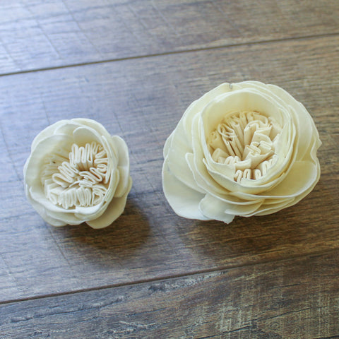 "Image of Garden Rose - 2.5"" - Wood Flowers Co."