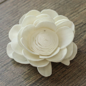"Lotus - 3"" - Wood Flowers Co."