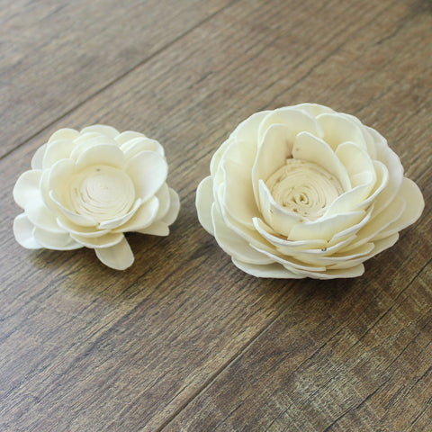 "Image of Lotus - 2"" - Wood Flowers Co."