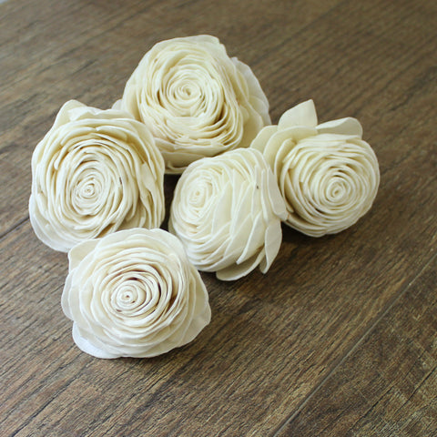 "New Beauty - 12 Pack - 3"" - Wood Flowers Co."