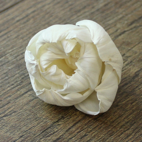"Peony - 3"" - Wood Flowers Co."