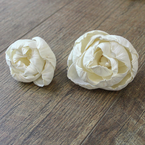 "Image of Peony - 3"" - Wood Flowers Co."