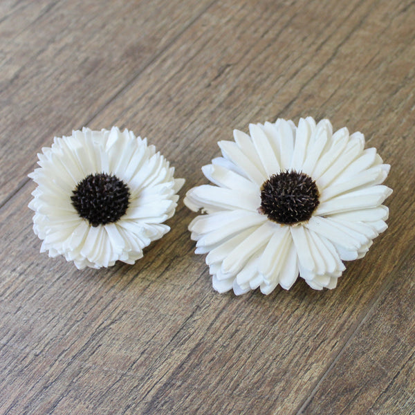 "Sunflower - 12 Pack - 3"" - Wood Flowers Co."