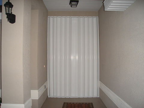 "85"" x 103.25"" Accordion Hurricane Shutter"