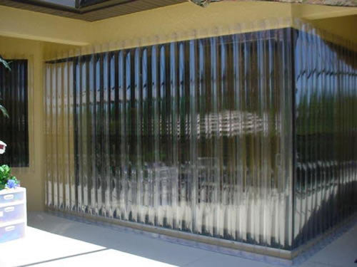 145 25 Quot X 86 Quot Clear Guard Storm Panel Empire Shutters