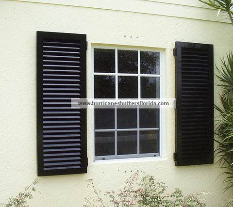 "64"" x 69"" Hi-Visibility Colonial Shutters"