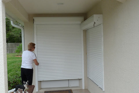 "33.25"" x 47"" Rolling Security Shutter- 40 mm"