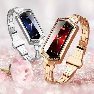 WOMEN SMART WATCH IOS ANDROID - BRACELET - ACCESSORIES
