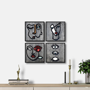 WoodColor - Mariam Series (4 pieces)