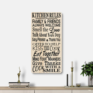 WoodMotto- Kitchen Rules II