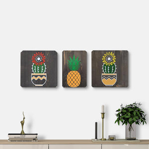 WoodColor - Pine Apple Series (3 Pieces)