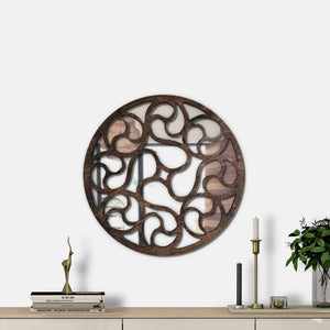 WoodMirror - Art Mirror - Wall Mirror,  Geometric Mirror, Wood Mirror, Framed Mirror, Bathroom Decor, Entryway Decor, Minimalist