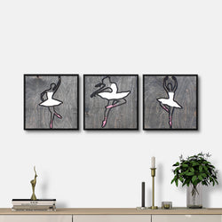 WoodColor - Ballerina Series (3 pieces)