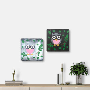 WoodColor - Owl Series (2 Pieces)