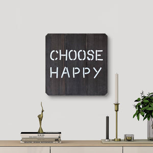 WoodMotto - Choose Happy